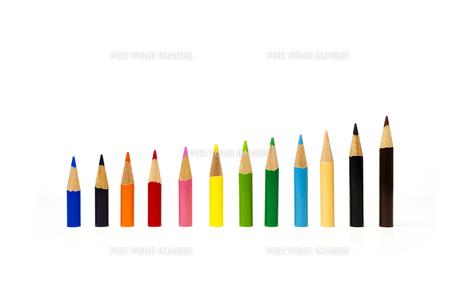 色鉛筆の写真素材 [FYI00224338]