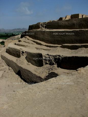 パラモンガ要塞(ペルー)の写真素材 [FYI00225621]