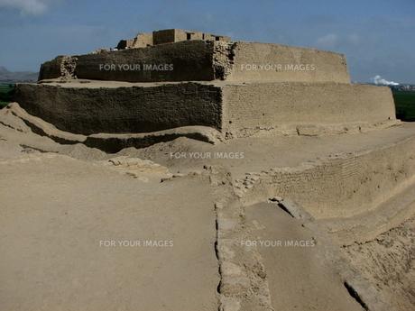 パラモンガ要塞(ペルー)の写真素材 [FYI00225637]