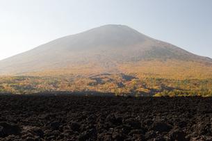 焼走り熔岩流の写真素材 [FYI00226041]