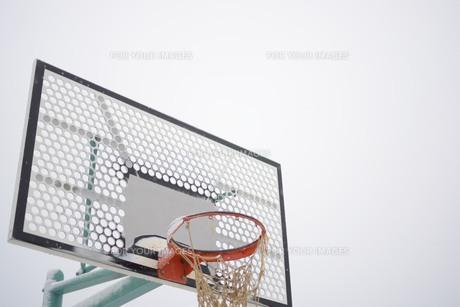 バスケットゴールの写真素材 [FYI00226068]