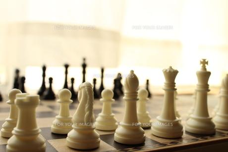チェスの写真素材 [FYI00226308]