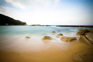 もんじゅに一番近い海水浴場の写真素材 [FYI00226415]