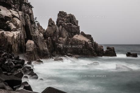 もんじゅに一番近い海水浴場の写真素材 [FYI00226417]