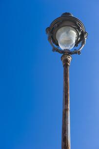 パリの街灯の写真素材 [FYI00226426]
