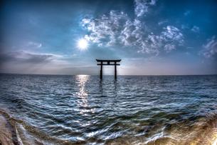 Shirahige Jinja shrine - 白鬚神社の写真素材 [FYI00226428]