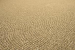 日本庭園・砂の波模様の写真素材 [FYI00226450]