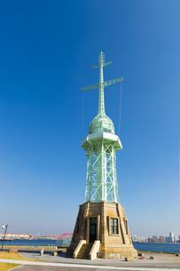 神戸港の灯台の写真素材 [FYI00226454]
