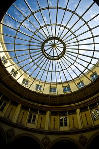 パリ・パッサージュのガラス天井の写真素材 [FYI00226456]