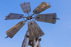 風車の写真素材 [FYI00226469]