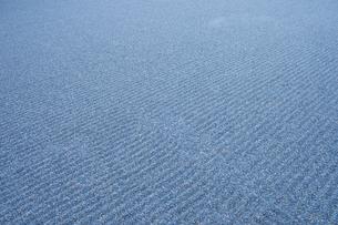 日本庭園・砂の波模様の写真素材 [FYI00226477]