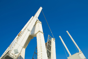跳ね橋の写真素材 [FYI00226499]