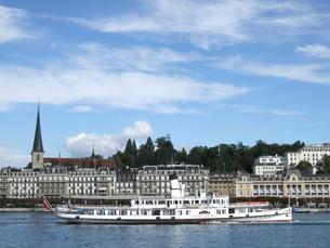 スイスの湖の写真素材 [FYI00226713]