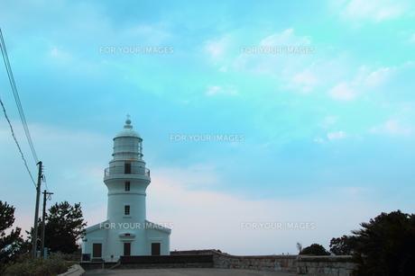屋久島灯台の写真素材 [FYI00226773]