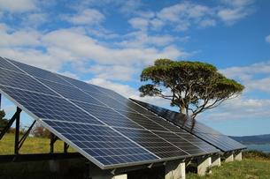 太陽光発電の写真素材 [FYI00226794]
