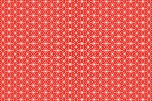 和風壁紙(赤い千代紙)の写真素材 [FYI00226806]