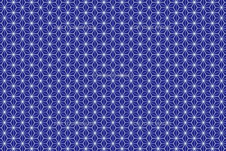 和風壁紙(紺色)の写真素材 [FYI00226840]