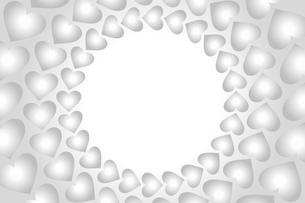 ハートの壁紙の写真素材 [FYI00226845]