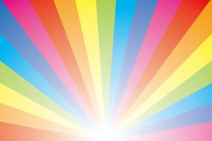 背景素材壁紙(虹の写真素材 [FYI00226891]