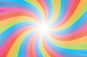 背景素材壁紙(虹の写真素材 [FYI00226900]