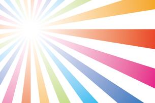 背景素材壁紙(虹の写真素材 [FYI00226902]