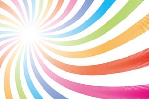 背景素材壁紙(虹の写真素材 [FYI00226904]
