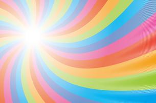 背景素材壁紙(虹の写真素材 [FYI00226905]