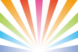 背景素材壁紙(虹の写真素材 [FYI00226907]