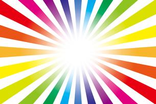 背景素材壁紙(虹の写真素材 [FYI00226909]