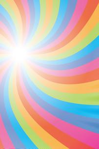 背景素材壁紙(虹の写真素材 [FYI00226910]