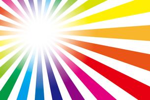 背景素材壁紙(虹の写真素材 [FYI00226911]