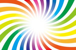 背景素材壁紙(虹の写真素材 [FYI00226912]