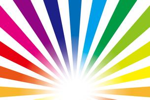 背景素材壁紙(虹の写真素材 [FYI00226913]