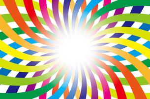 背景素材壁紙(虹の写真素材 [FYI00226914]