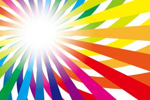 背景素材壁紙(虹の写真素材 [FYI00226915]