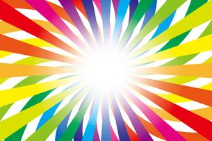 背景素材壁紙(虹の写真素材 [FYI00226916]