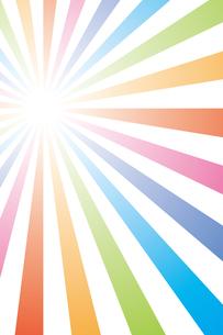 背景素材壁紙(虹の写真素材 [FYI00226917]