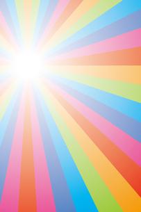 背景素材壁紙(虹の写真素材 [FYI00226918]
