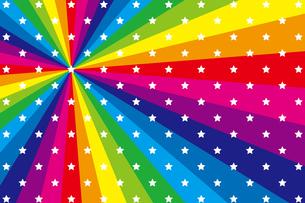 背景素材壁紙(虹の写真素材 [FYI00226965]