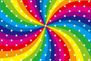 背景素材壁紙(虹の写真素材 [FYI00226969]