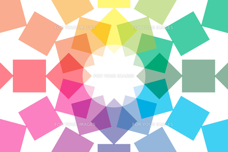背景素材壁紙 (虹色の写真素材 [FYI00227039]