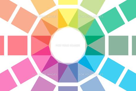 背景素材壁紙 (虹色の写真素材 [FYI00227044]