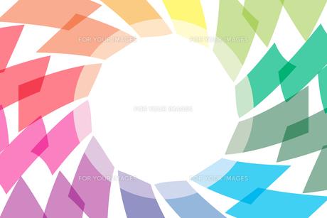 背景素材壁紙 (虹色の写真素材 [FYI00227047]
