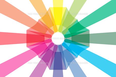 背景素材壁紙 (虹色の写真素材 [FYI00227049]
