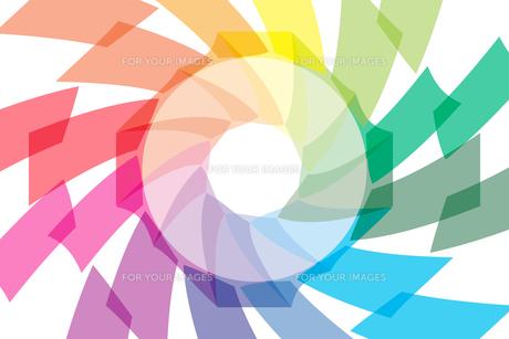 背景素材壁紙 (虹色の写真素材 [FYI00227050]
