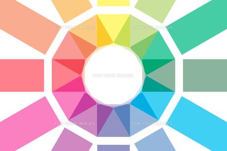 背景素材壁紙 (虹色の写真素材 [FYI00227052]
