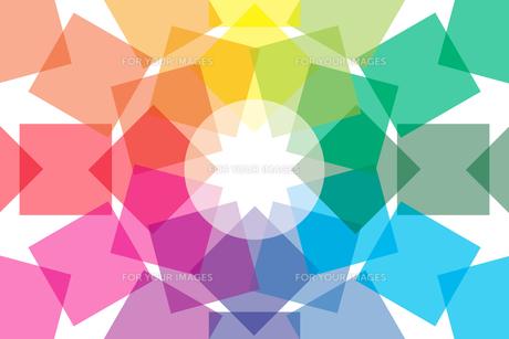 背景素材壁紙 (虹色の写真素材 [FYI00227054]