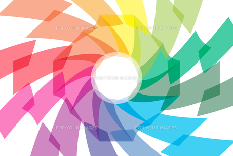 背景素材壁紙 (虹色の写真素材 [FYI00227056]