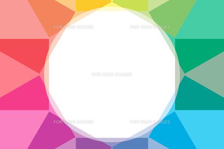 背景素材壁紙 (虹色の写真素材 [FYI00227059]