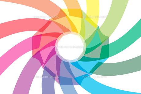 背景素材壁紙 (虹色の写真素材 [FYI00227060]